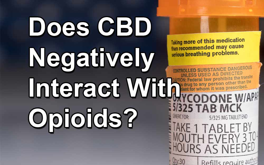 Does-CBD-Negatively-Interact-With-Opioids
